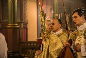 14-Messe d'exposition des Quarante-Heures - procession du Saint Sacrement