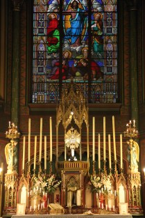 22-Messe de reposition des Quarante-Heures coram Sanctissomo