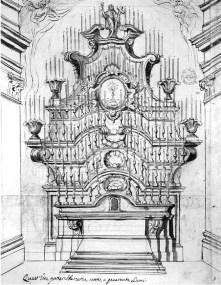 Machine italienne des Quarante-Heures - XVIIème siècle