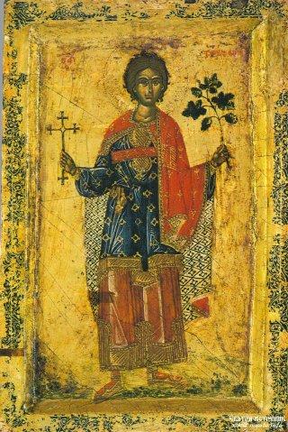 Saint martyr Tryphon