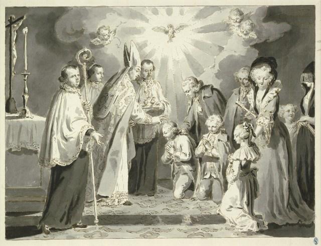Pietro Antonio Novelli - le sacrement de la confirmation
