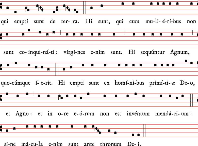 Epître des saints Innocents - plain-chant d'Amiens