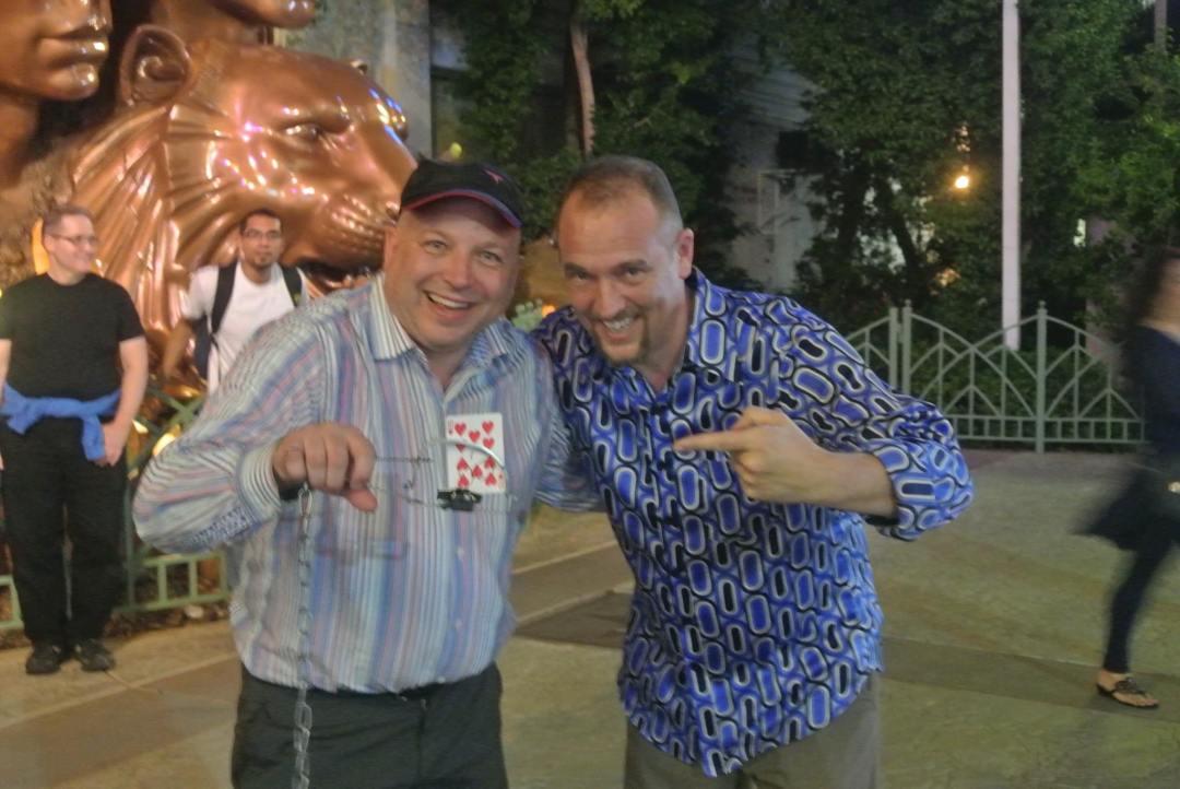 Las Vegas - on the Strip- Worlds Most Dangerous Card Trick