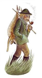 Der Hasenräuber Zeichnung: Petra Elsner