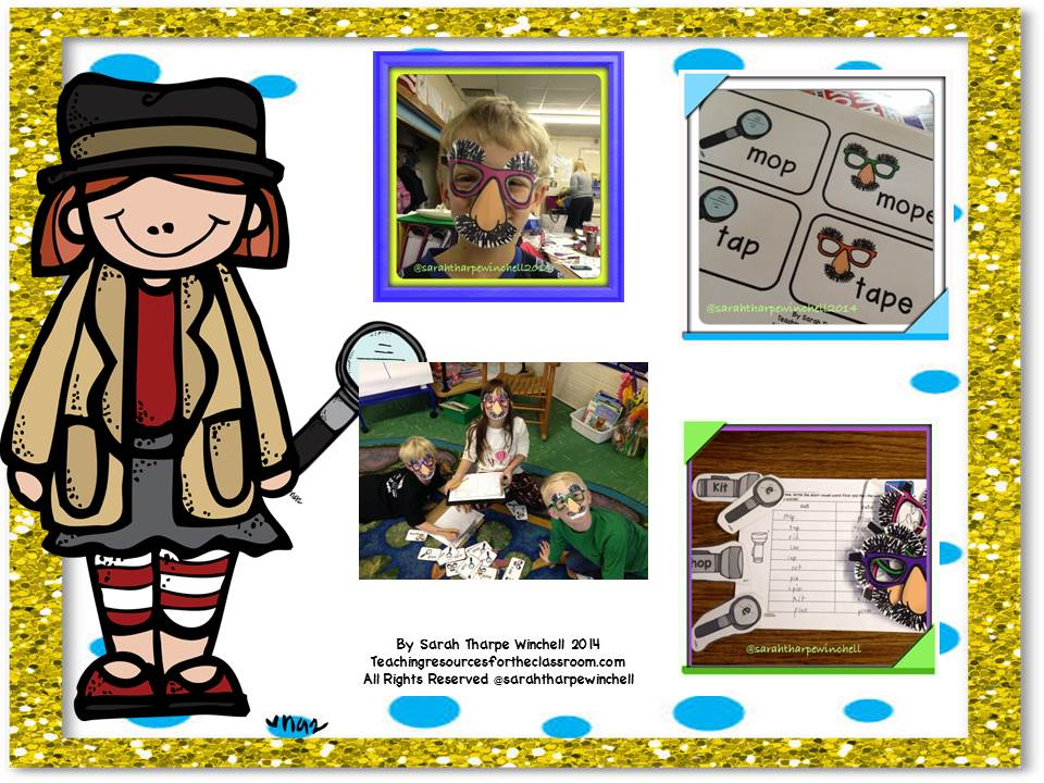 Sneaky E! Teaching Silent E with a Detective Theme! On Sale