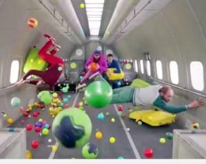 Gravity? STEAM: Ok Go's Upside Down Inside Out