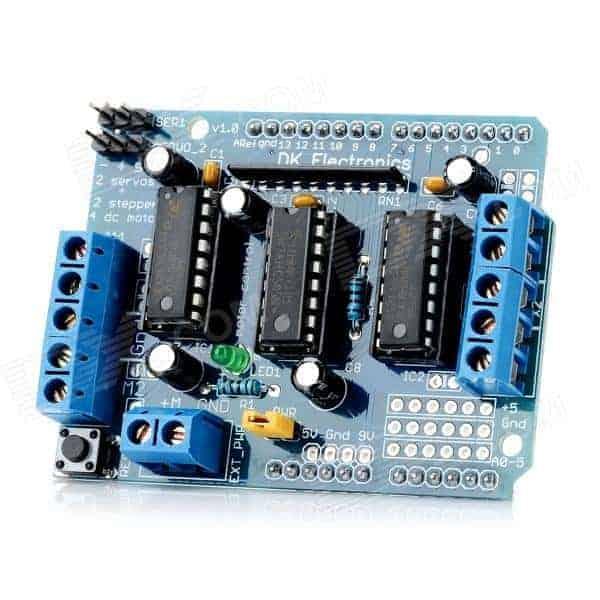 Testing Arduino Motor Shield With Servo Motor Do It