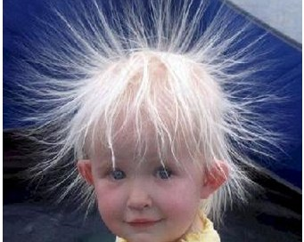 Static Charge on Hair http://top-img.com/e/electric-shock-hair