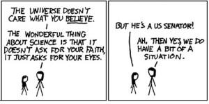 Xkcd sul creazionismo http://xkcd.com/154/