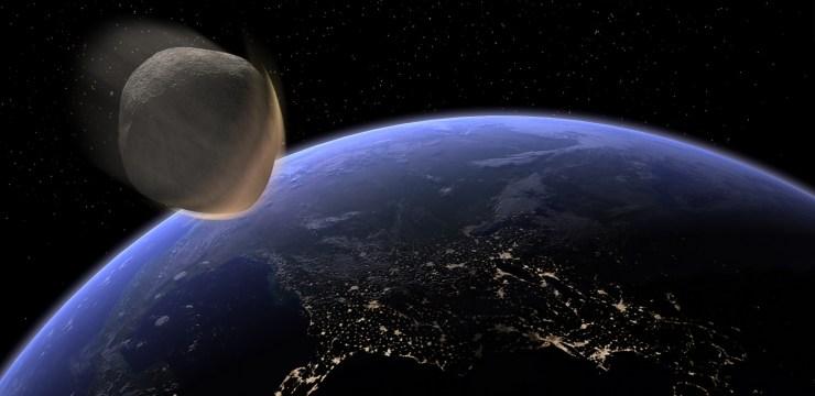 Sfiorati da un asteroide