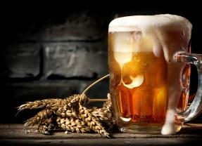 La spumosa schiuma di una buona birra