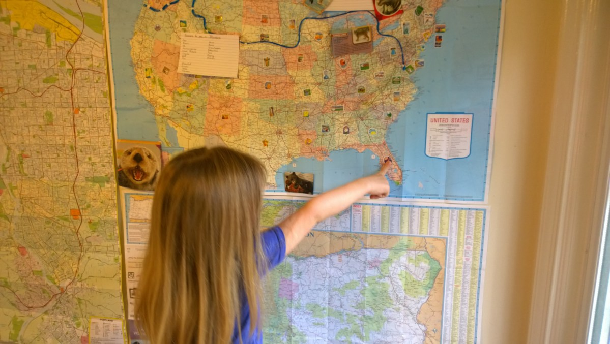 Planning a Cross-Country Road Trip With Small Children