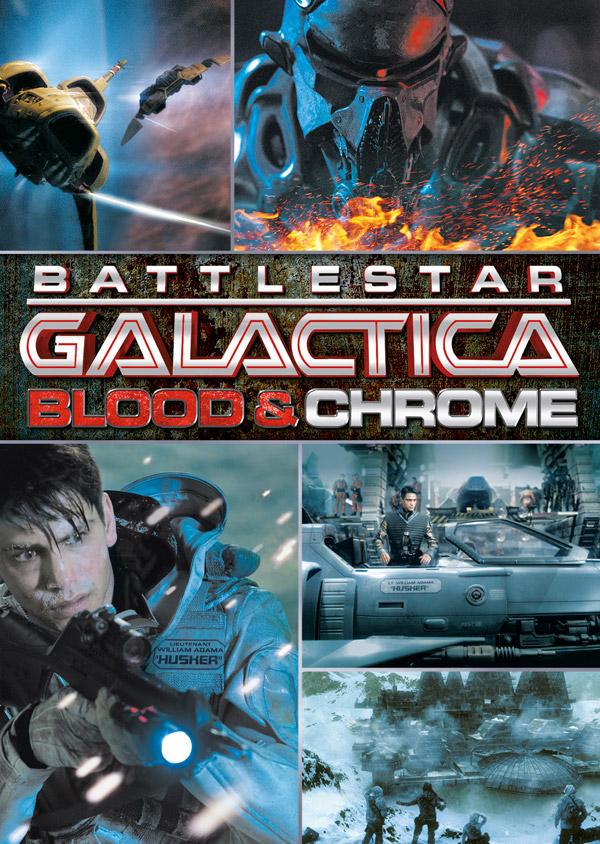 Poster do filme Battlestar Galactica: Blood and Chrome