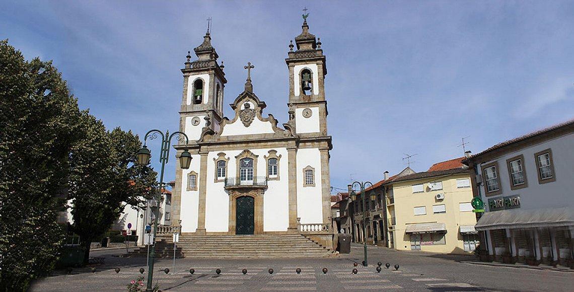Igreja Misericórdia Penalva do Castelo frente