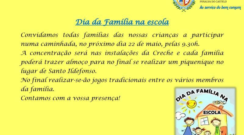 Dia da Família na escola