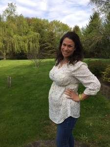 Vic at nearly 25 weeks. Almost to the third trimester!