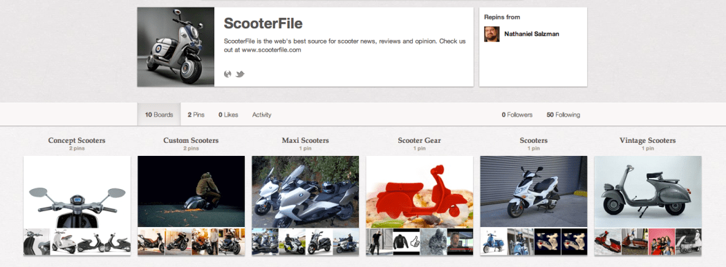 ScooterFile on Pinterest