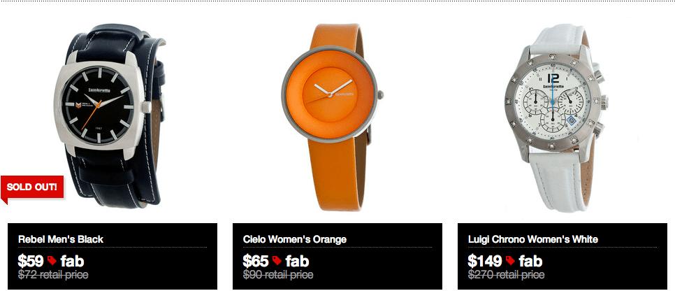 Lambretta Watches on Fab