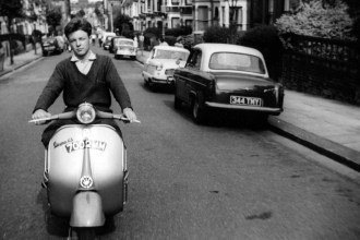 60s Scooter Commute