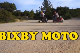 Bixby Moto $100 Off-road Scooter Challenge