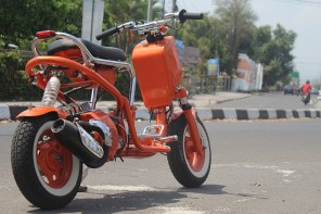 A Radical Custom Scooter from Indonesia's K-kustom Garage