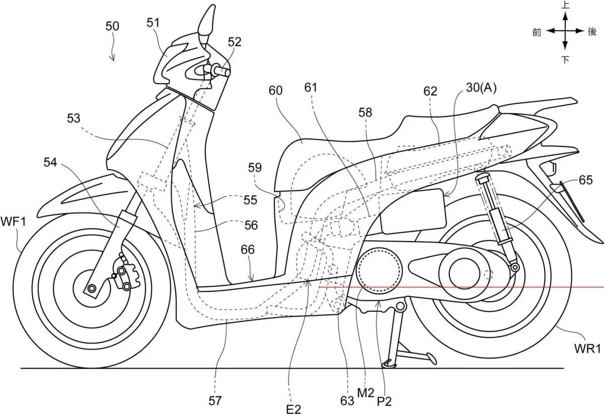Previsão de motor híbrido em scooter para 2017!
