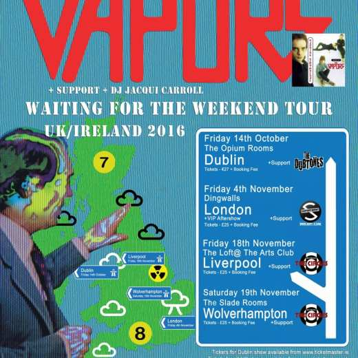Vapors Poster with Support Info
