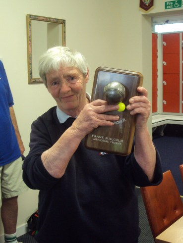 Eileen Moonie - Frank Malcolm Memorial Winner 2013