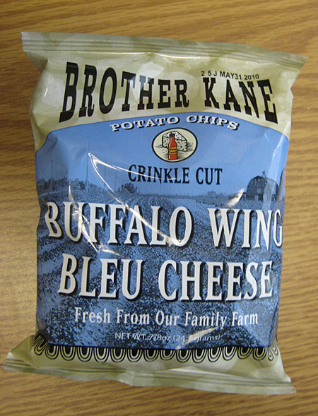Brother Kane Buffalo Wing Bleu Cheese Potato Chips