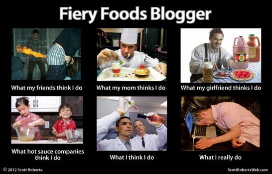 Scott Roberts - Fiery Foods Blogger