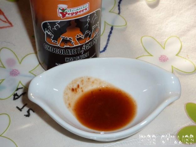 Volcanic Peppers Lava Chocolate Lightning Hot Sauce