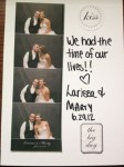 Larissa & Marty Four Weddings Photo Booth