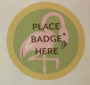 FlamingoBadge