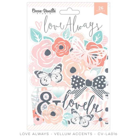 COCOA VANILLA STUDIO | LOVE ALWAYS | CV-LA016