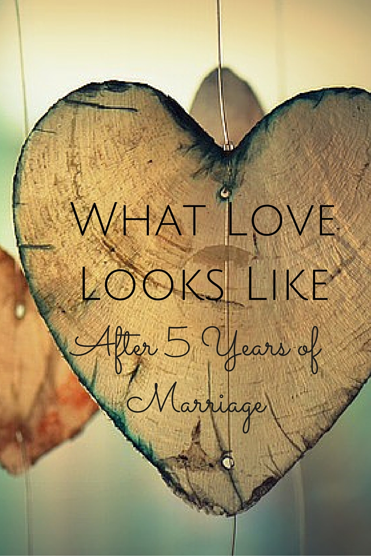 what love looks like after 5 years of marriage 5th wedding anniversary My husband and I just celebrated our fifth wedding anniversary and our love is so different