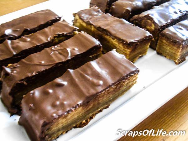 Chocolate-Almond Schichttorte