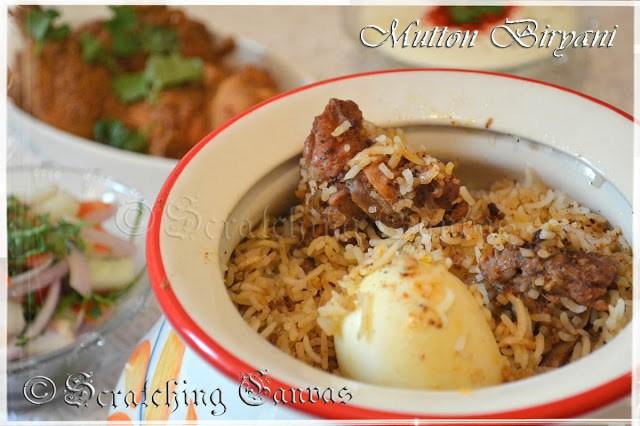 Kolkata Style Mutton biryani Recipe