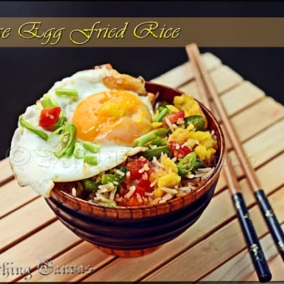 Healthy Chinese Egg Fried Rice: Quick One Pot Meal