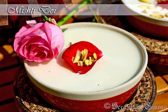 Homemade Instant mishti doi Recipe