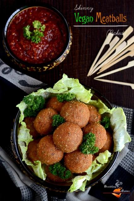 Gluten Free Vegan Meatballs