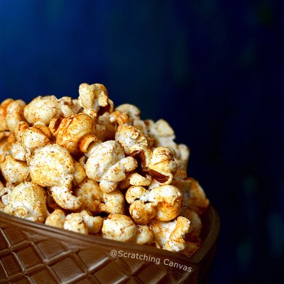 Homemade Chili Lime Popcorn