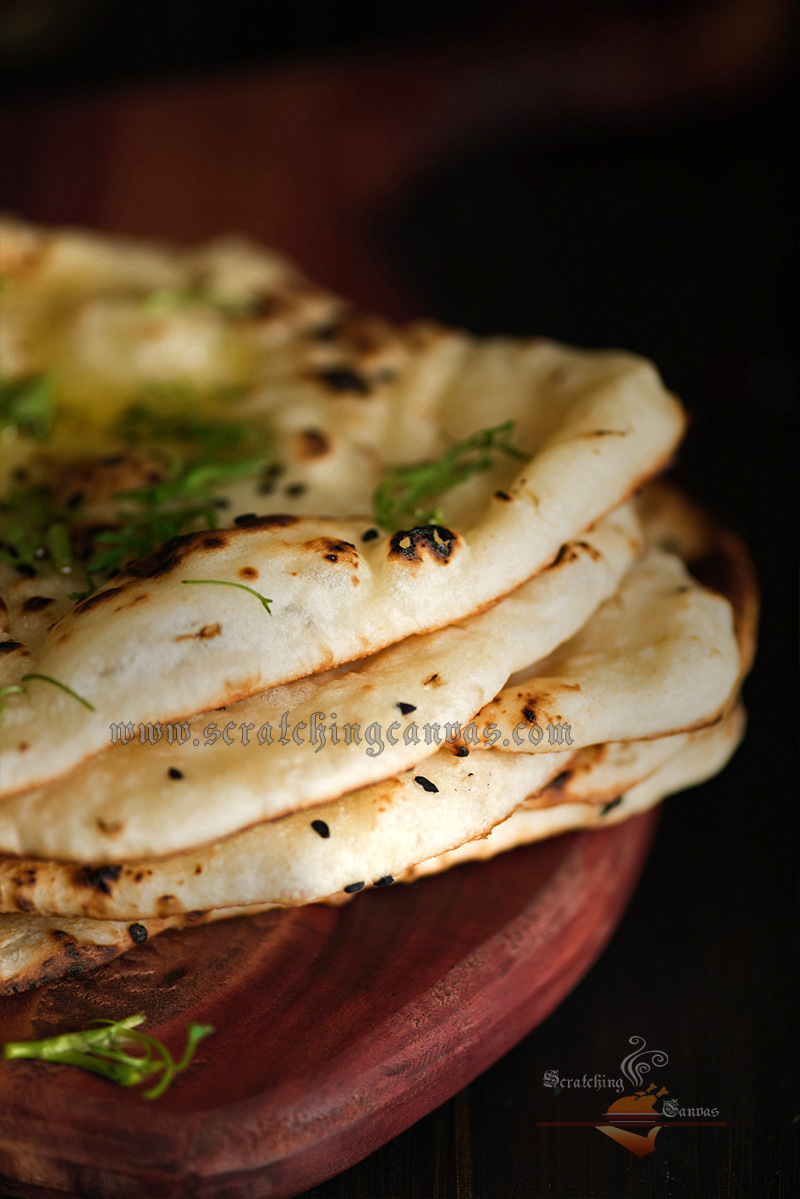 how to make naan with yeast