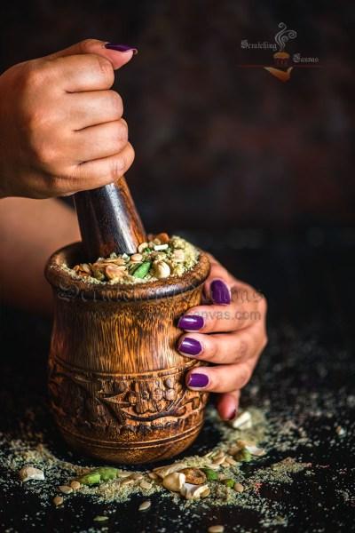 Thandai Powder | Thandai Masala Mix | Instant Thandai Recipe