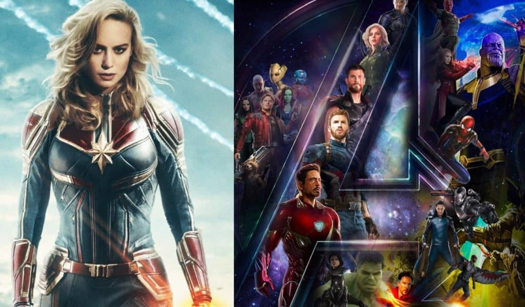 Why Captain Marvel Was Cut From  Avengers  Infinity War  Captain Marvel Avengers  Infinity War