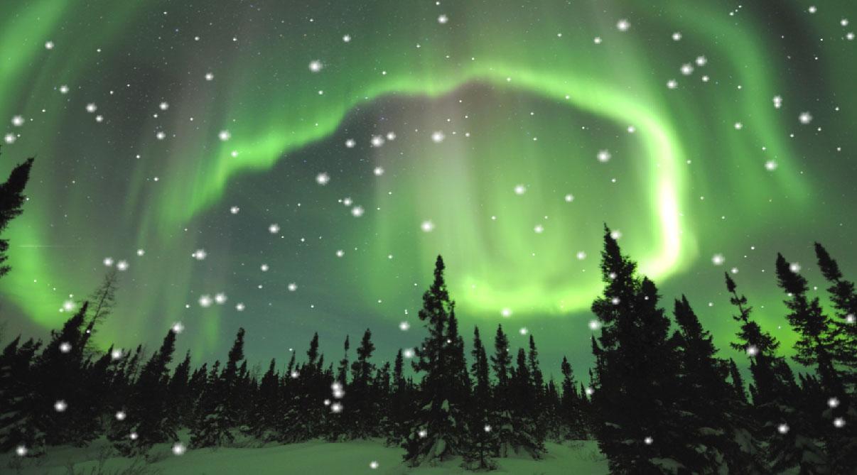 Aurora Borealis Screensaver
