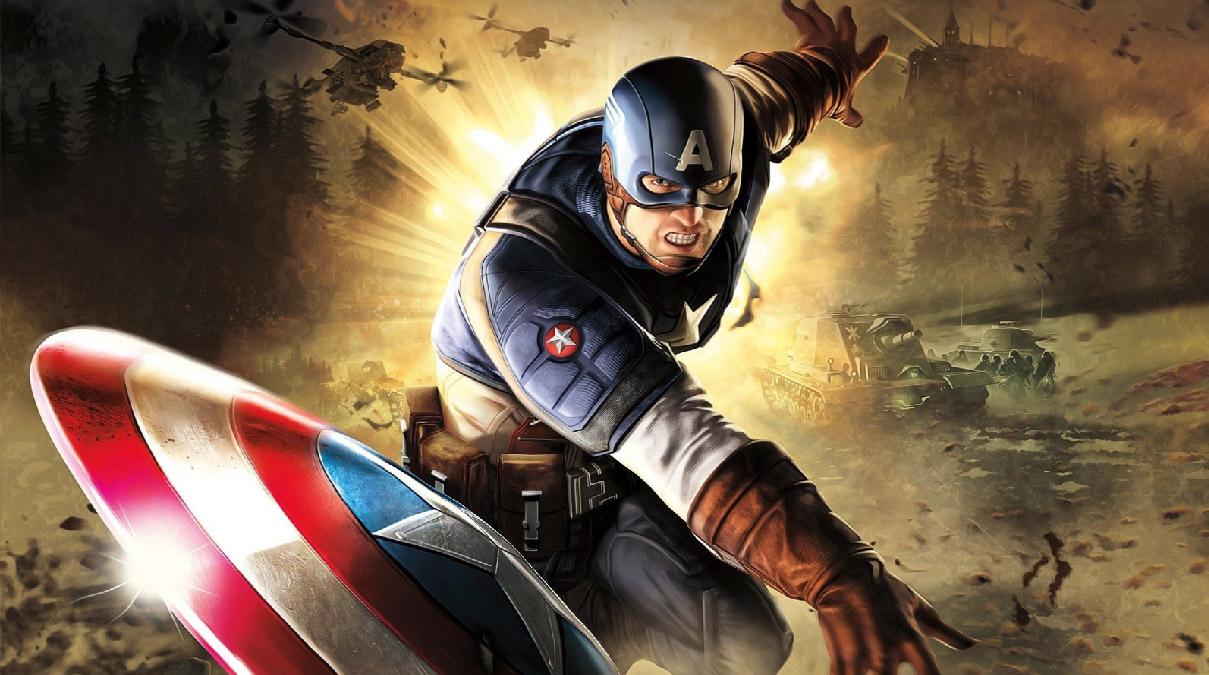 Captain America Screensaver