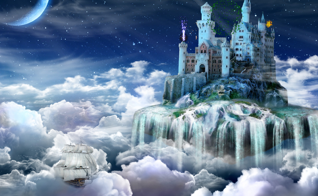 Fantasy Castles Screensaver