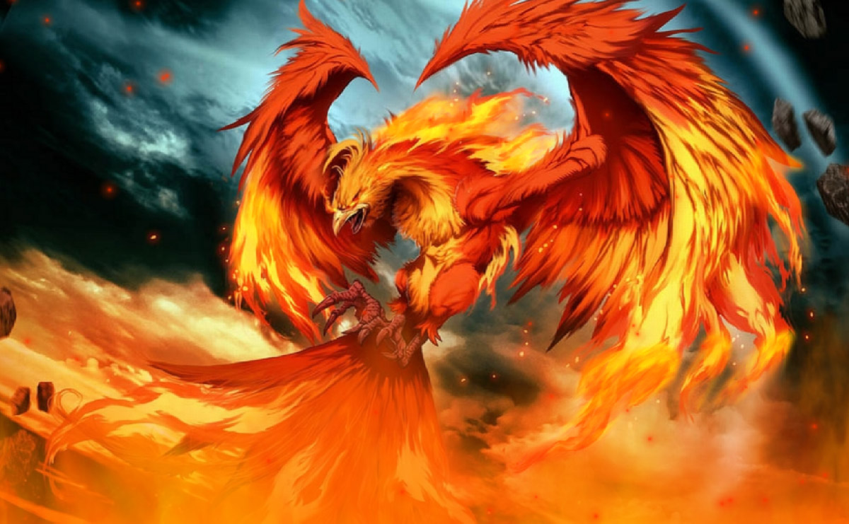 Fire Phoenix Screensaver