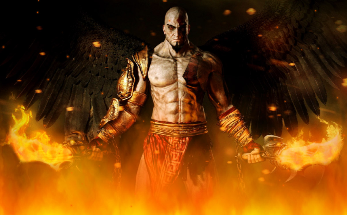 God Of War Screensaver