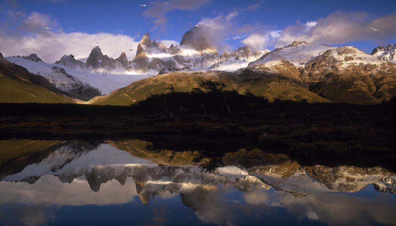 Lake Mountain Reflection Screensaver